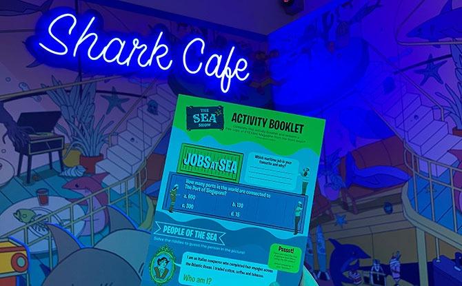 The Sea Show - Shark Cafe - MPA
