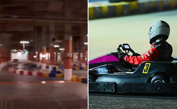 Circuit Tiki Indoor Go Kart Track at Resorts World Sentosa