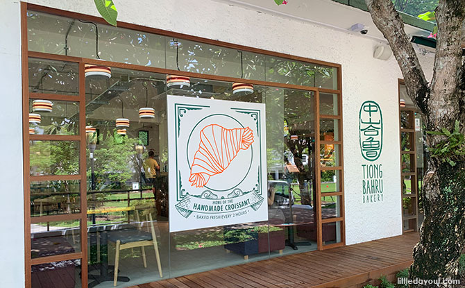 Tiong Bahru Bakery At The Foothills: Café At Fort Canning Park