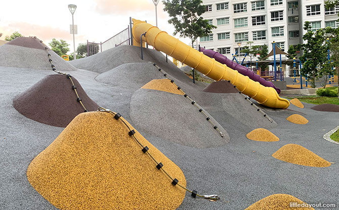 Rubber Mounds - Toa Payoh Crest playground