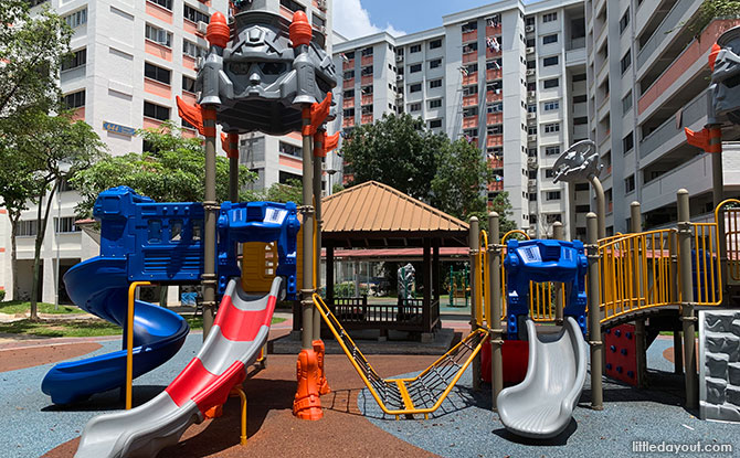 Robot Playground In Yishun: Playground In Disguise - Transformer Playground