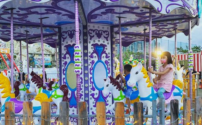 Rides at Uncle Ringo Carnival 2021