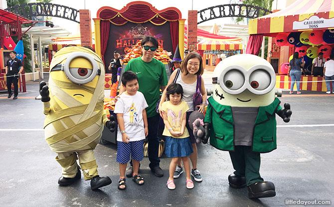 Illumination's Minion Monsters Tricky Treats Mini-Parade, Universal Studios Singapore, 2019