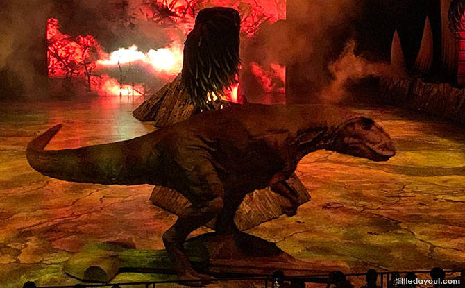 Allosaurus - Walking with Dinosaurs Singapore