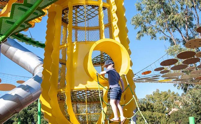 Wellington Square In Perth, Australia, Gets A New Playground: Koolangka Koolangka Waabiny