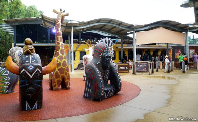 Werribee Zoo Entrance