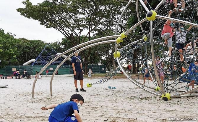 West Coast Park Playground shuttered