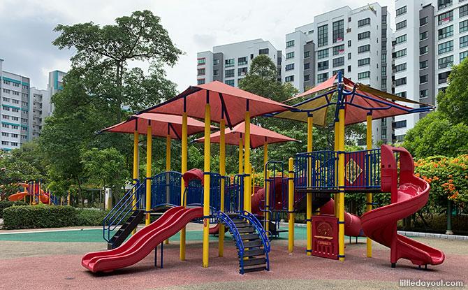 Woodlands Crescent Park Playground