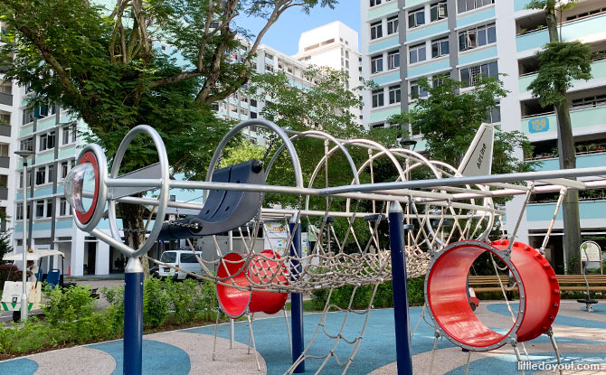 Yung Loh Road Airplane Playground: Jet Powered In Jurong