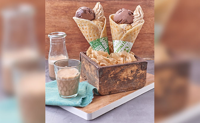 Ben & Jerry's Singapore Will Have A Prata Cone Available From 16 Aug To 5 Sep