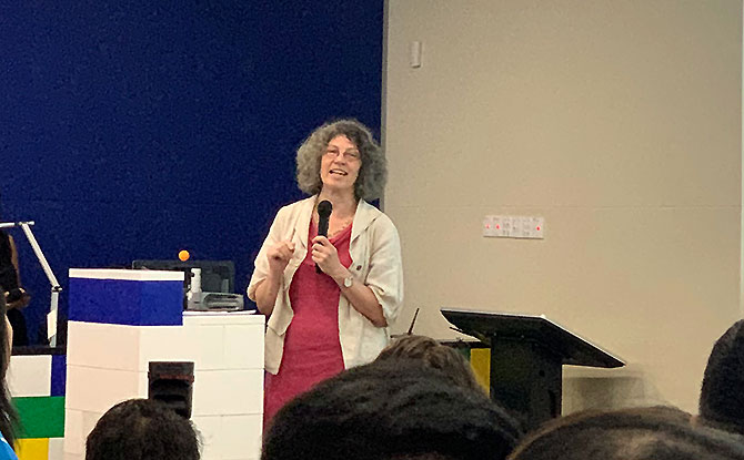 Sonia Livingstone, Professor of Social Psychology in the Department of Media and Communications at the London School of Economics