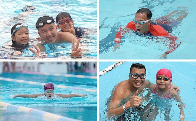 Make Waves For Better Lives: Liberty SAFRA Swim For Hope 2020