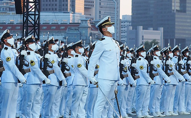 5 Things To Know About The Singapore National Day 2021 Ceremonial Parade
