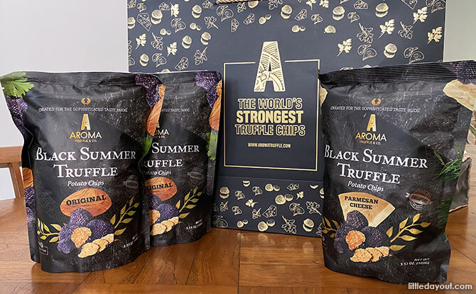 Aroma Truffle: Truffle-Flavoured Potato Chips in Singapore