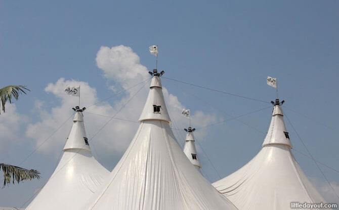 Masts Tent