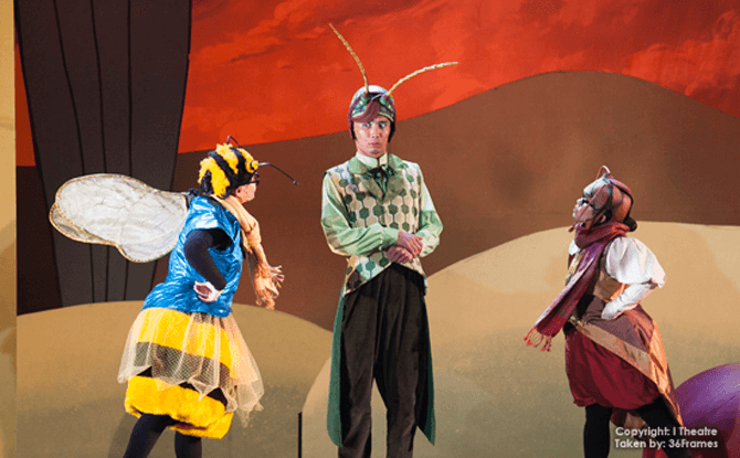 Scenes from The Ant and The Grasshopper in 2014