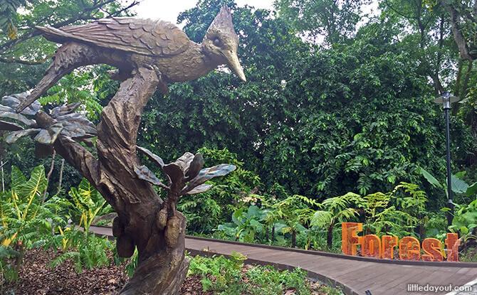 Forest Zone at Jacob Ballas Children's Garden
