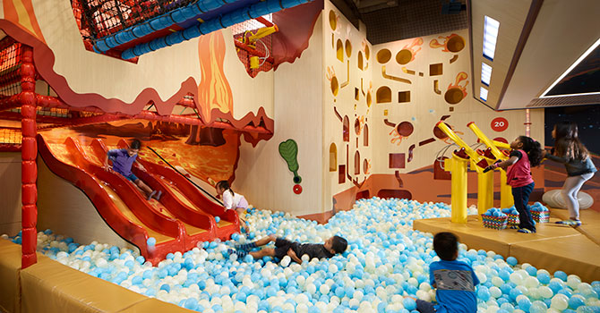 "The Explorer Zone at buds by Shangri-La will get kids ""fired-up""!"