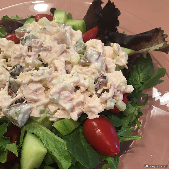 Chicken Salad with Mayonnaise