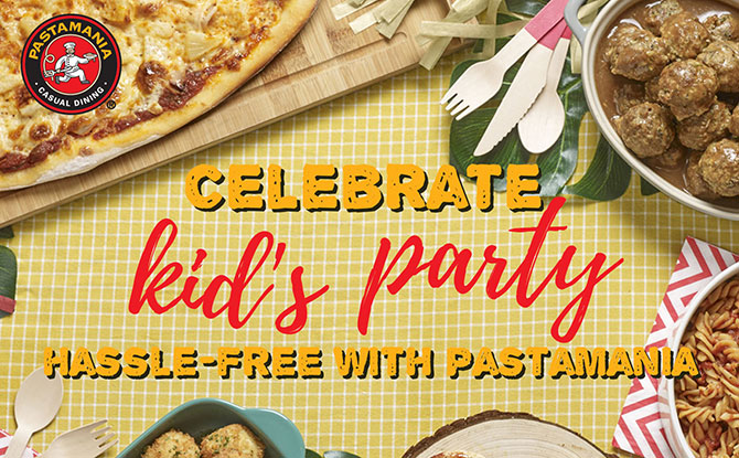 Kids Pizza birthday party - PastaMania