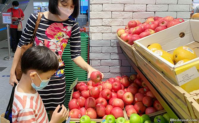 Fun and Fruitful Grocery Shopping