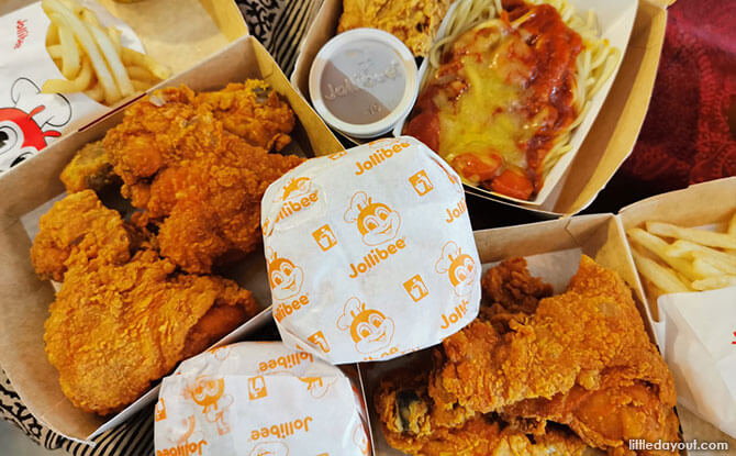 Fast Food in Singapore