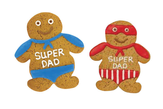 It's a bird! It's a plane! It's a… Super Dad cookie!