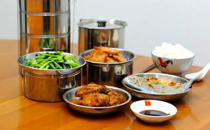 Home Delivery Food Services - Tingkat Meals