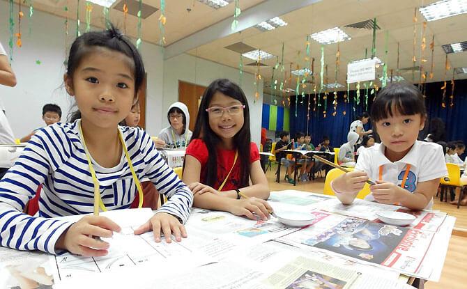 Students at Hua Language Centre