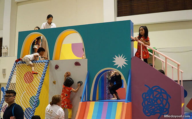 Hullabaloo Play Structure, The Artground, Singapore