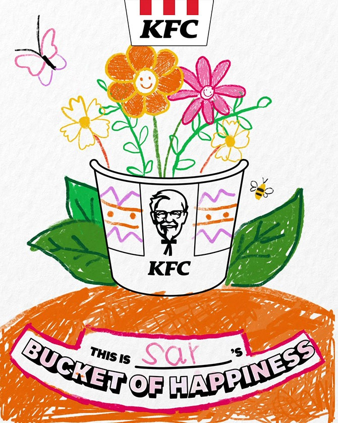 KFC Draw Your Happiness Drawing Contest