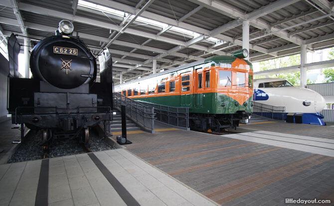 Train Promenade, Kyoto Railway Museum