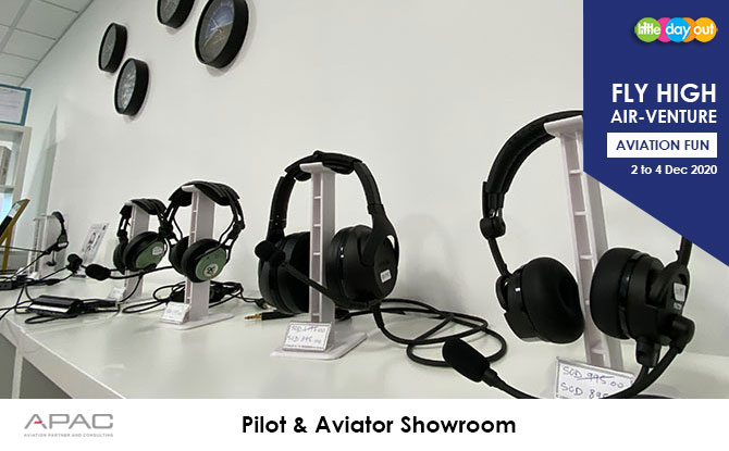Little Day Out's Fly High Air-venture Camp with APAC: Aviator Showroom