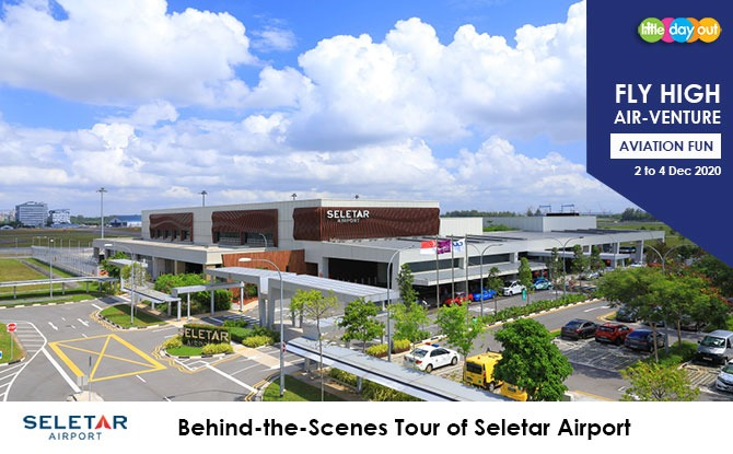 Little Day Out's Fly High Air-venture Camp with Seletar Airport: Behind-the-Scenes