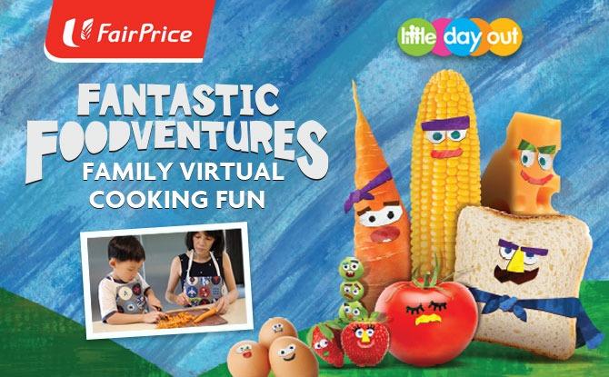 FairPrice's Fantastic Foodventures Family Virtual Cooking Fun