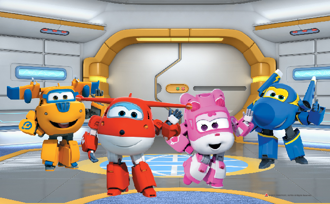 Super Wings Live Show at Suntec City, June 2019