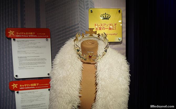 Dress up at Tokyo's Madame Tussauds wax museum