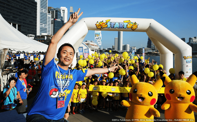 Junichi Masuda, founding member of Game Freak and best known as a game director and composer for the Pokémon games, was the Guest-of-Honour for the run.