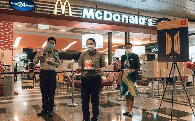 2,000 BTS Meals for Changi Airport Frontline Employees in Zone 1