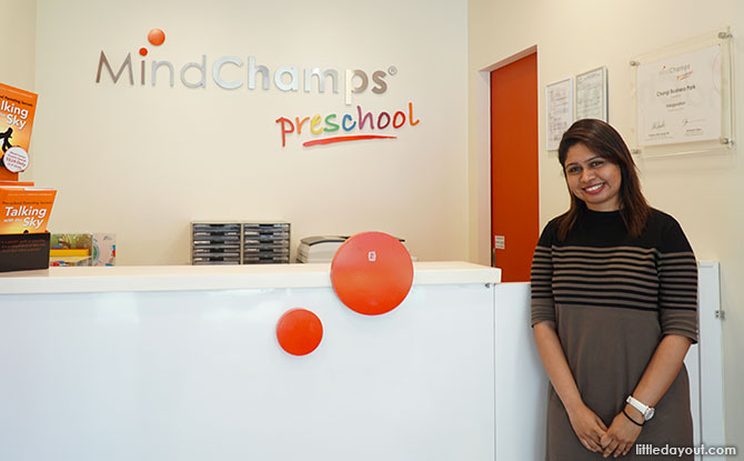 Ms Anuradha Subramaniam, Principal of MindChamps PreSchool Changi Business Park