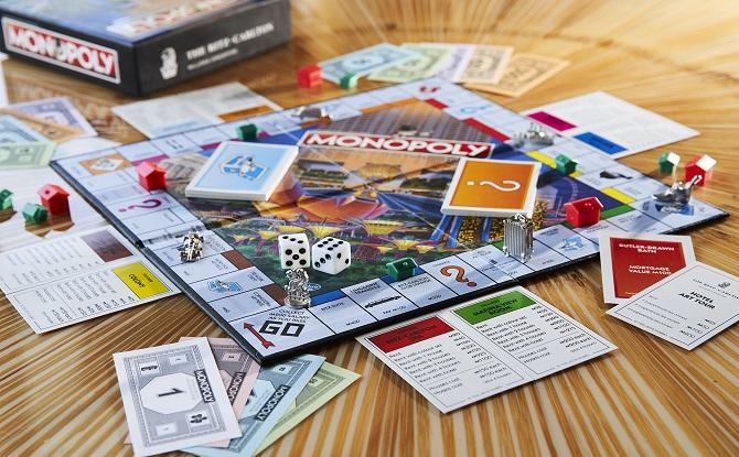 Monopoly Game at Ritz Carlton