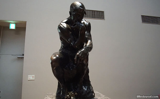 Rodin at the National Museum of Western Art in Ueno Park, Tokyo