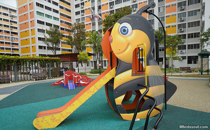 Origami Playground at Nee Soon 3G Park Bee Slide