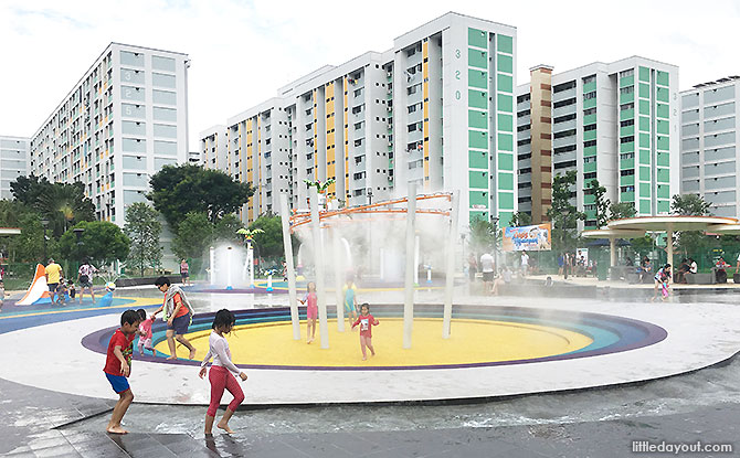 Mist Play Area, Oasis Waterpark @ Nee Soon