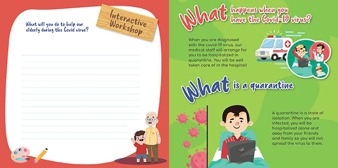 PeopleUp Singapore's Learning through Covid-19 Book