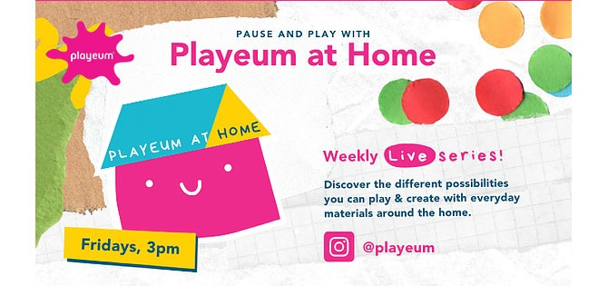 Playeum at Home Live: Explore and Play