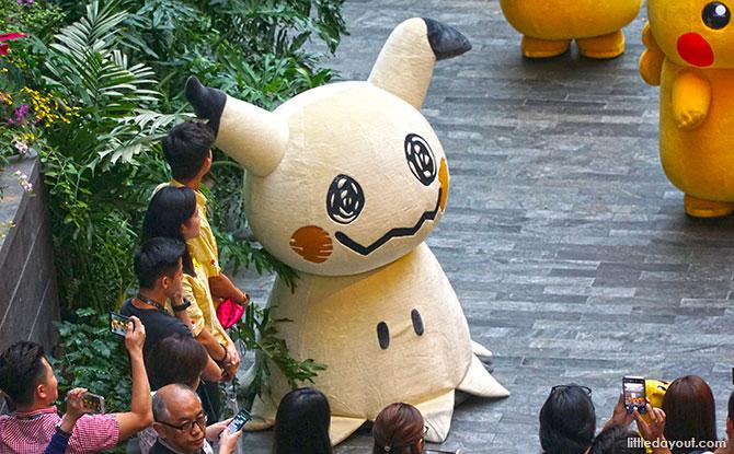 Mimikyu at the Pokemon Parade, Jewel Changi Airport
