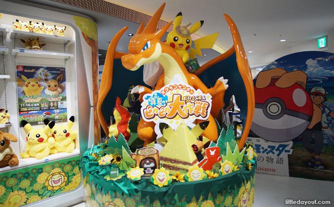 Pokemon Center MEGA in Tokyo Japan