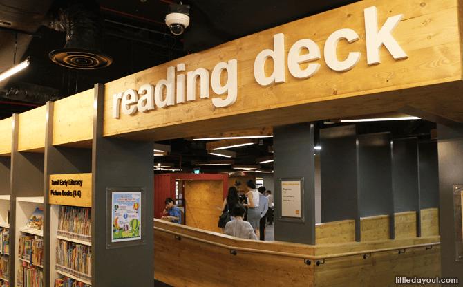 Reading Deck, Sembawang Public Library