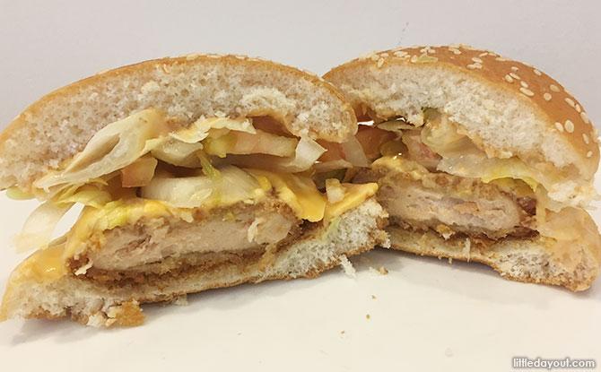 Taste Test: Salmon & Chicken Mentaiko Burgers At Burger King